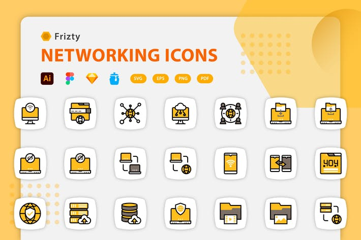 Fristy - Network Icons