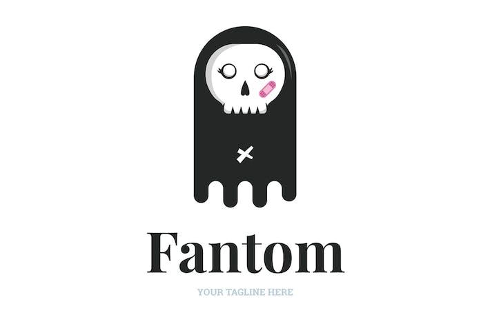 Thumbnail for Lady Skull Logo Template