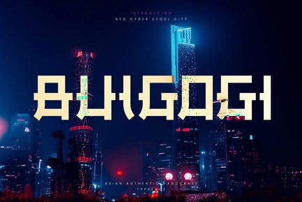 Bulgogi - Ethnic Asian Display Typeface