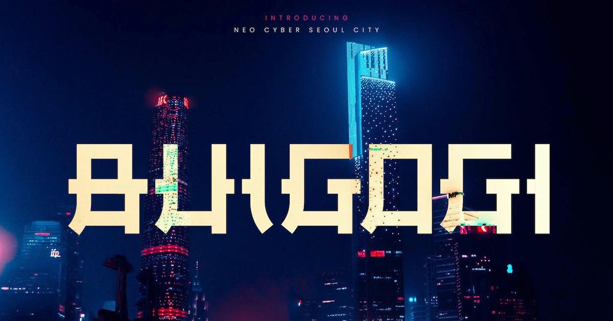 Download Bulgogi - Ethnic Asian Display Typeface by naulicrea