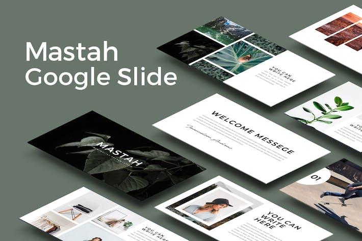 Thumbnail for Mastah Google Slides Template