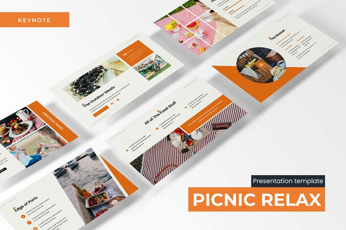 Picnic Relax - Шаблон Keynote