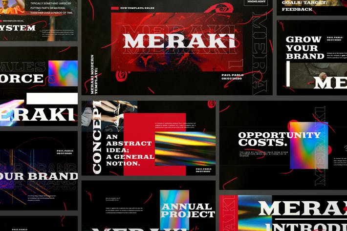 Meraki - Urban Creative Agency Powerpoint