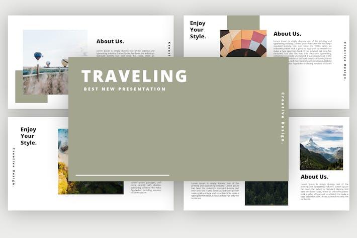 Thumbnail for Traveling - Keynote Presentation