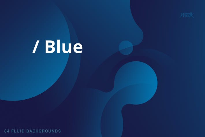 Thumbnail for Blue | Soft Fluid Backgrounds
