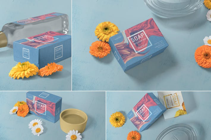 Thumbnail for Soap Packaging Mockups