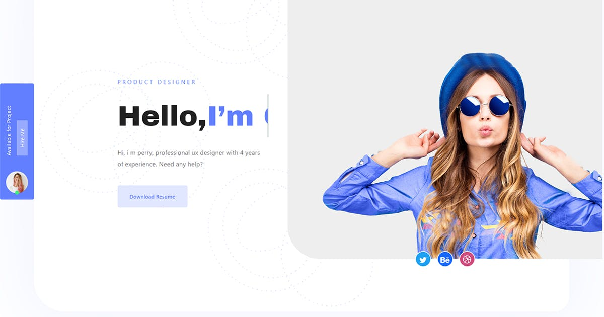 Dolio - React JS Personal Portfolio Template by themesflat