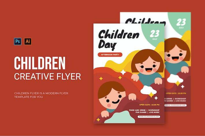 Kindertag - Flyer