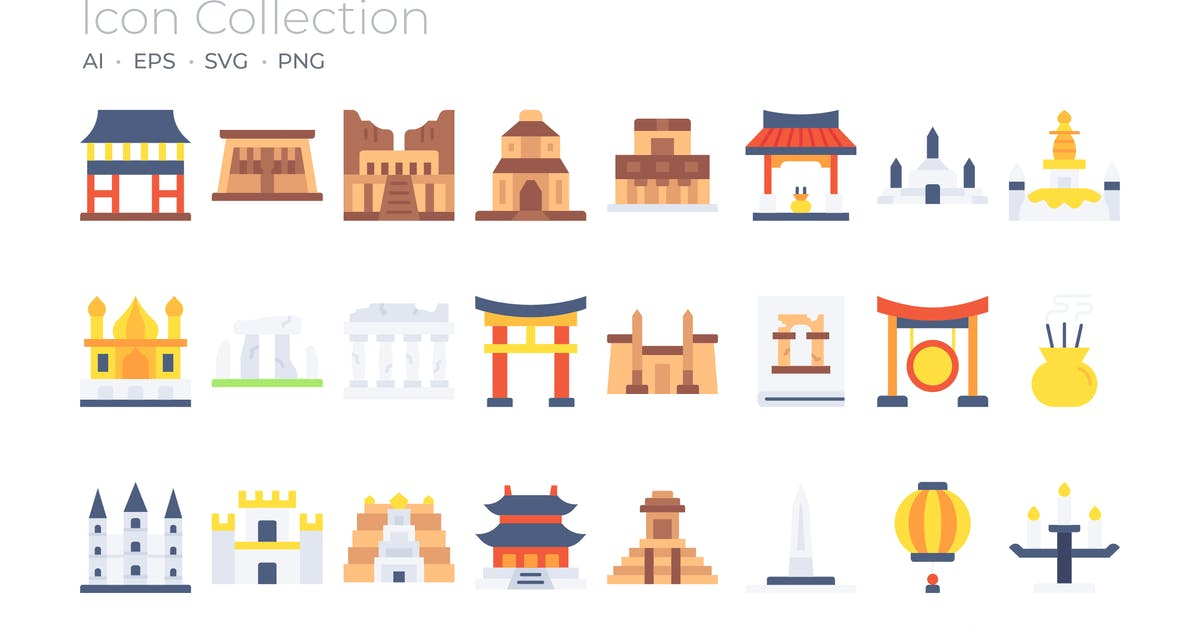 Download Temples Color Icon by GoodWare_Std
