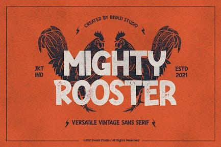 Mighty Rooster - Vintage versátil