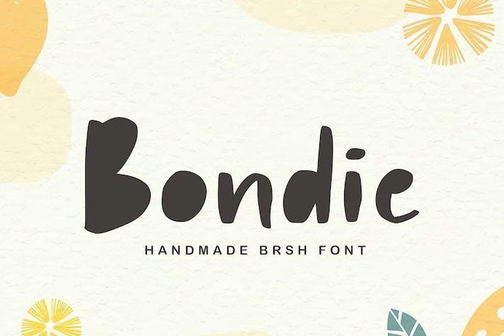 Thumbnail for Bondie | A Playfull Font