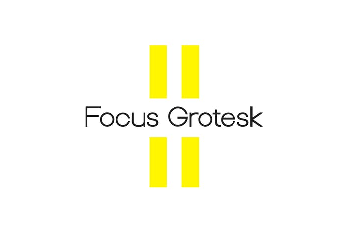Cover Image For Focus Grotesk - Geometric Sans-Serif Typeface