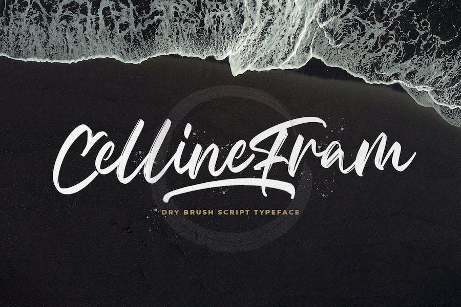 Celline Fram - Fuente de pincel texturizado