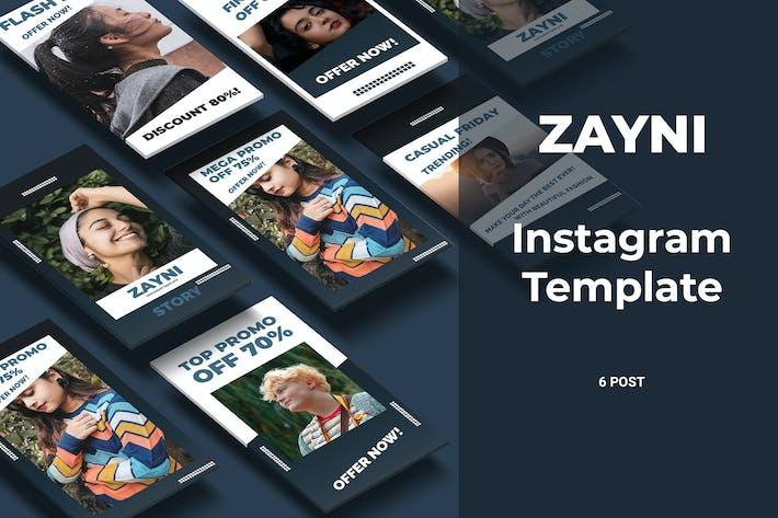 Thumbnail for Zayni - Fashion Social Media Story Part 8