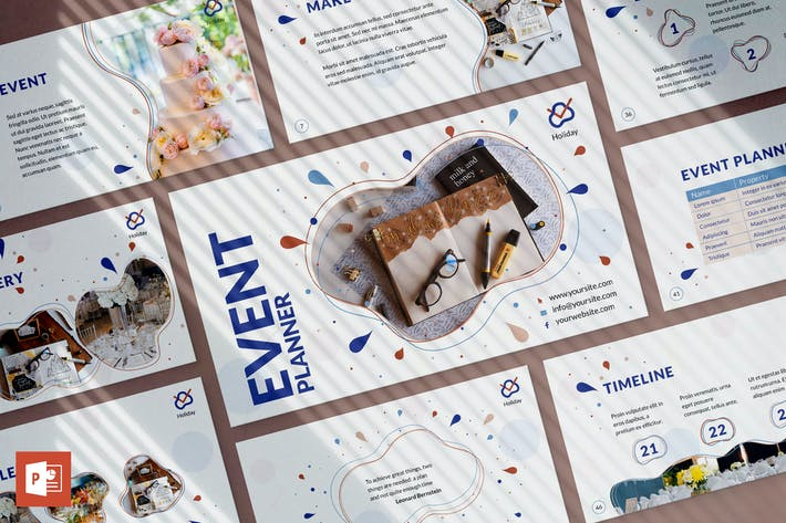 Event Planner PowerPoint Presentation Template