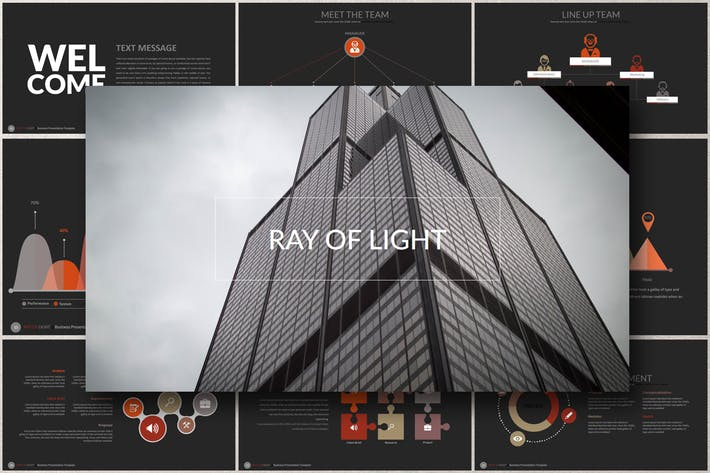 Thumbnail for RAY OF Light Powerpoint