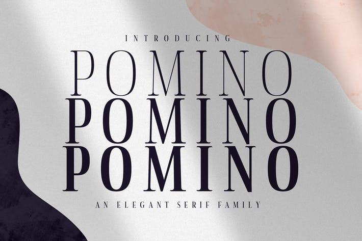Thumbnail for Pomino - Moderno Con serifa Familia tipográfica