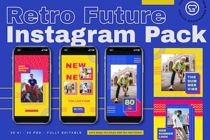 Retro Future Instagram Pack
