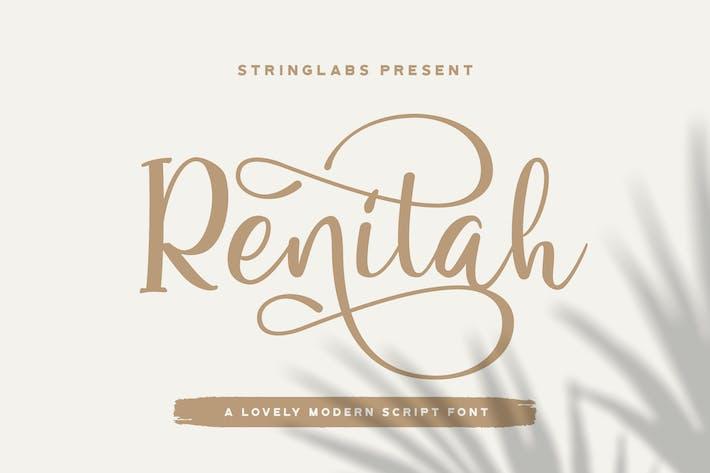 Thumbnail for Renitah - Fuente de escritura encantadora