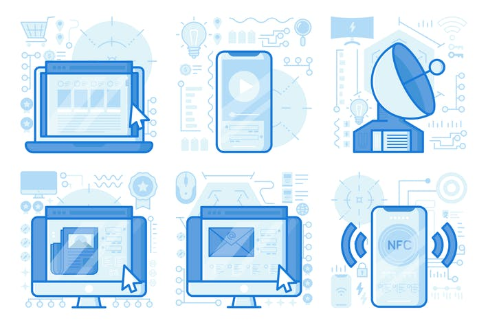 Thumbnail for иллюстрации UX мультимедийного смартфона