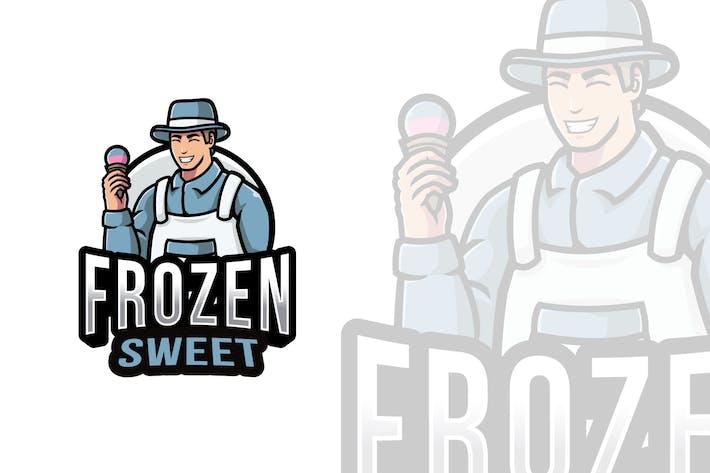 Thumbnail for Frozen Sweet Logo Template