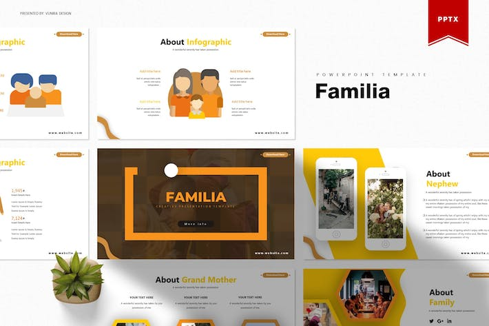 Thumbnail for Familia   Powerpoint Template