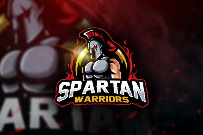 Thumbnail for Spartan Warriors - Mascot & Esport Logo