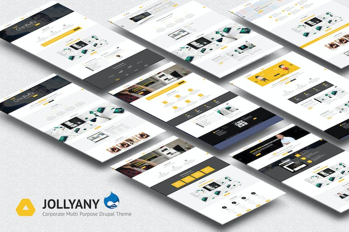 Thumbnail for Jollyany - Corporate Multi Purpose Drupal Theme