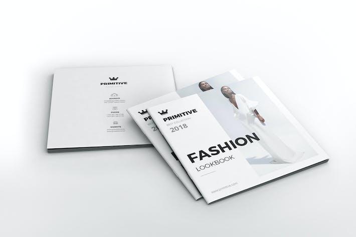 Thumbnail for Lookbook de mode carré