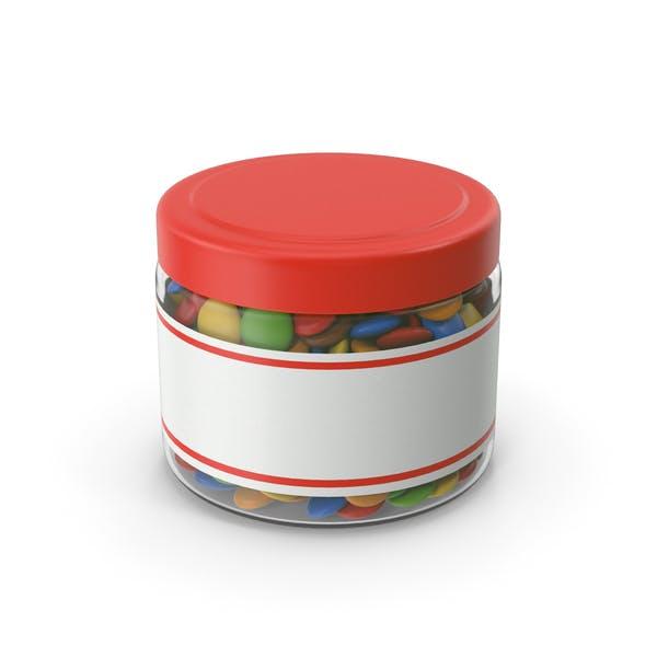 Sweets Chocolate Candy Jar