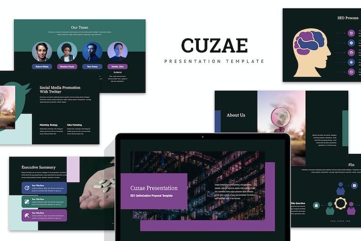 Thumbnail for Cuzae : SEO Optimization Proposal Google Slides
