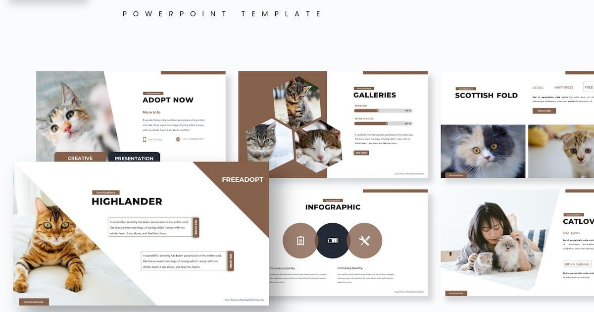 Download Kitten - Powerpoint Template by aqrstudio