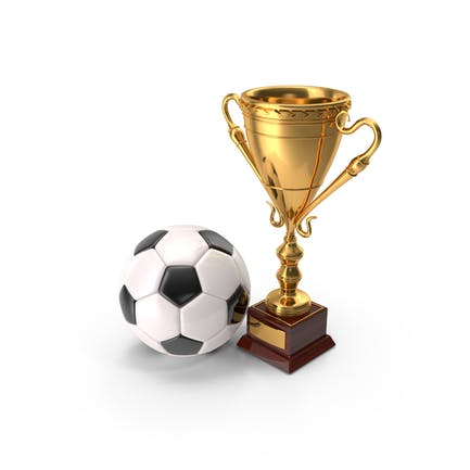 Soccer Cup And Ball