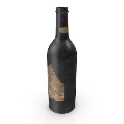 Alte Flasche Alkohol