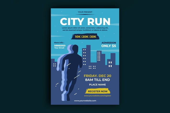 Thumbnail for City Run Poster