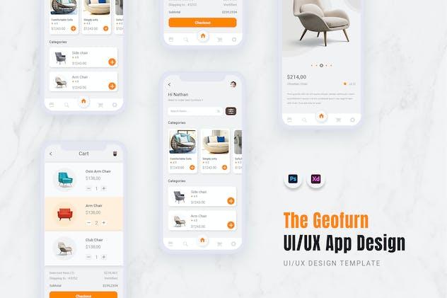 Geofurn App Mobile