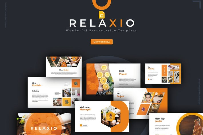Thumbnail for Relaxio - Google Slides Template