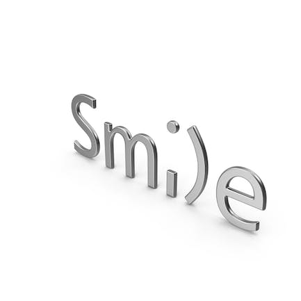 Word Smile Silver
