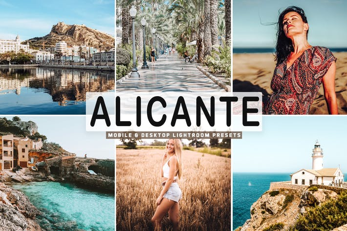 Thumbnail for Alicante Mobile & Desktop Lightroom Presets