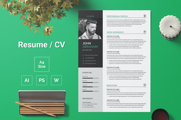 Thumbnail for Resume Template 103