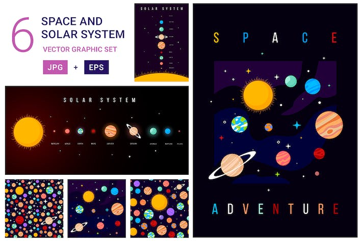 Cover Image For Solarsystem-Muster Set