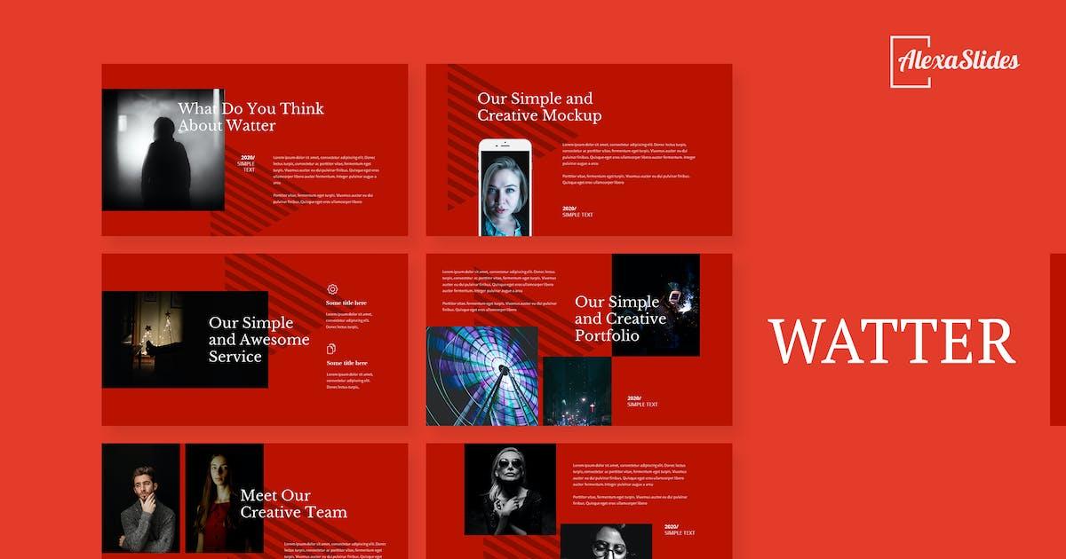 Download Watter - Creative Powerpoint Template by alexacrib