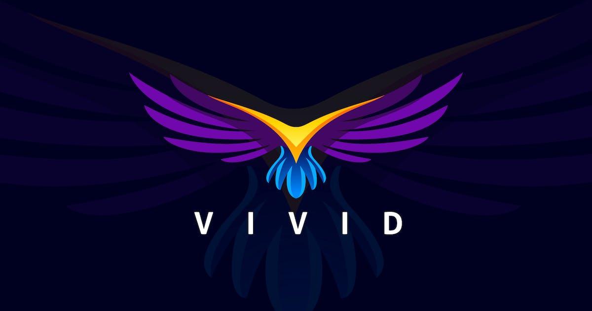Download Flying Modern Bird Logo by Suhandi