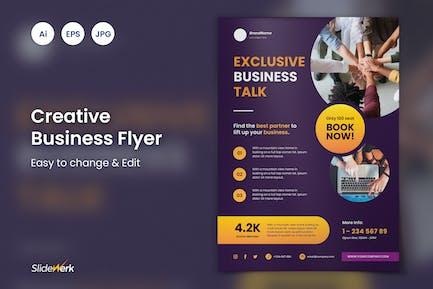 Creative Business Event Flyer 49 - Slidewerk