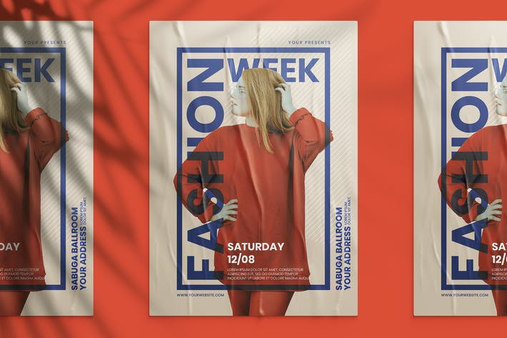 Thumbnail for Fashion Week Flyer