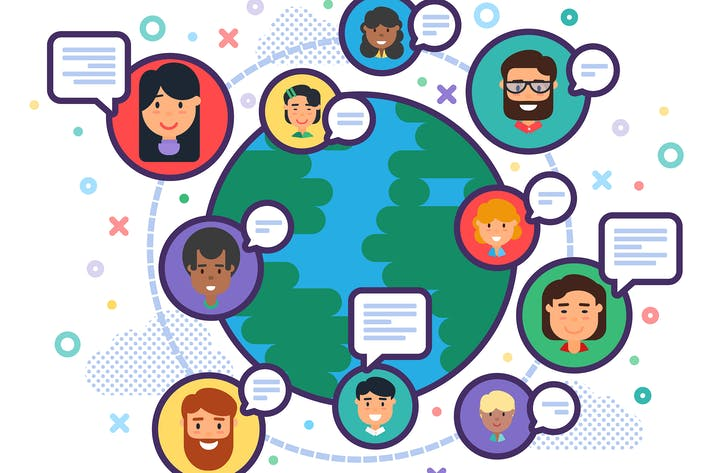 Thumbnail for Иллюстрация многообразия людей во всем мире