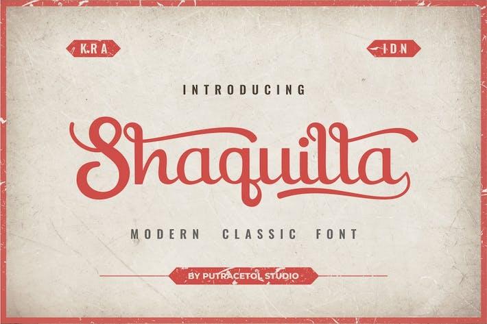 Shaquilla - Police de style classique moderne