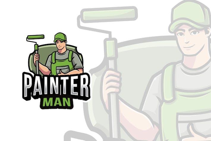 Thumbnail for Painter Man Logovorlage