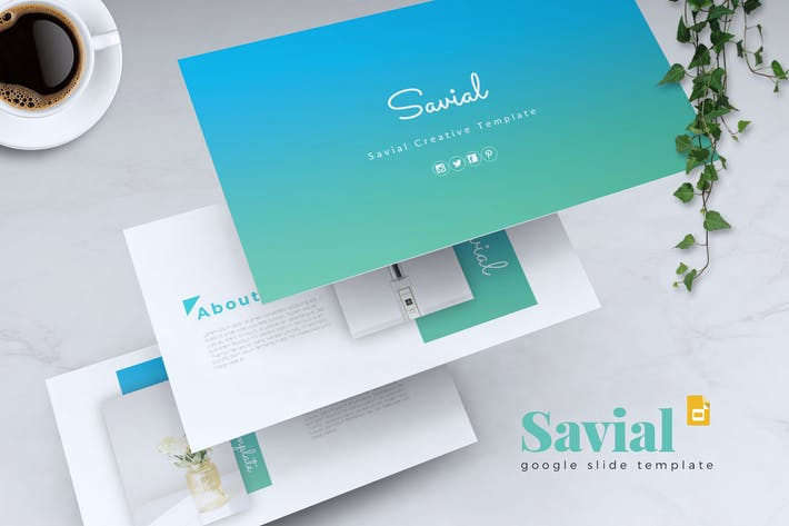 Thumbnail for SAVIAL - Creative Google Slides Template