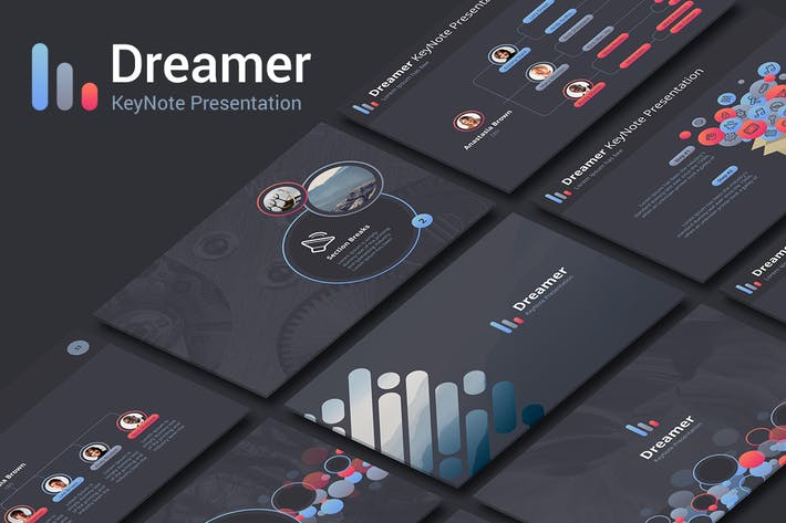 Thumbnail for Dreamer KeyNote Template